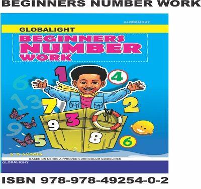 Beginners Number Work