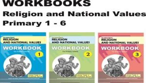 WORKBOOKS Religion and National Values for primary 1-6